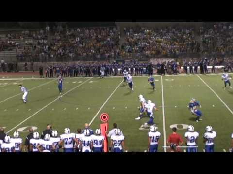 High School Football Hit