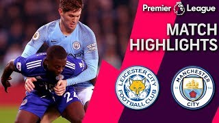 Leicester City v. Man City | PREMIER LEAGUE MATCH HIGHLIGHTS | 12/26/2018 | NBC Sports
