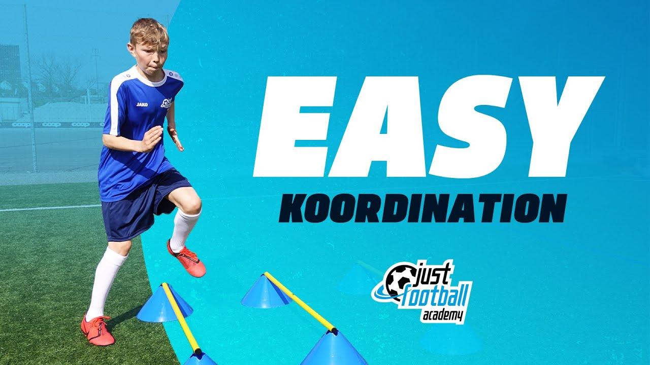 Fussballtraining Easy Koordination Kondition