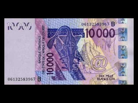All West African CFA Franc Banknotes - 500 Francs To 10.000 Francs - 2003 To 2014 Issue In HD