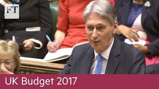 UK Budget: Hammond puts brave face on dire growth forecasts