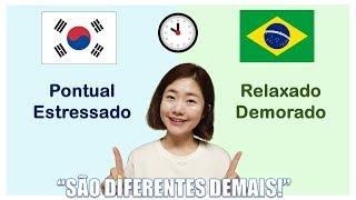 Baixar BRASILEIROS VS COREANOS, PACIÊNCIA TÃO DIFERENTE