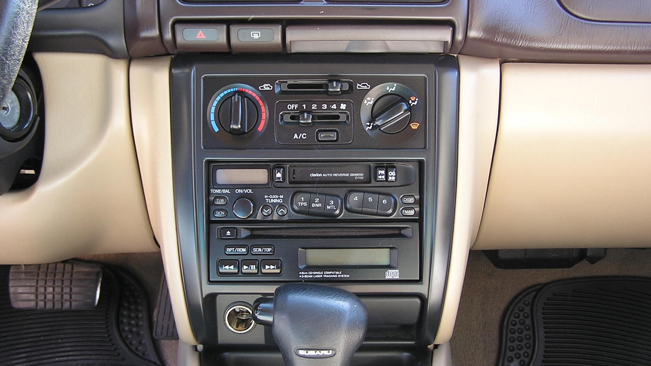 Subaru Forester Car Stereo Removal