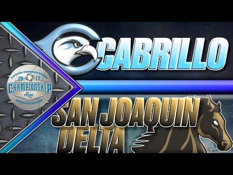 CCCAA Women's Volleyball Semifinal: Cabrillo v San Joaquin Delta - 12/2 - 5pm