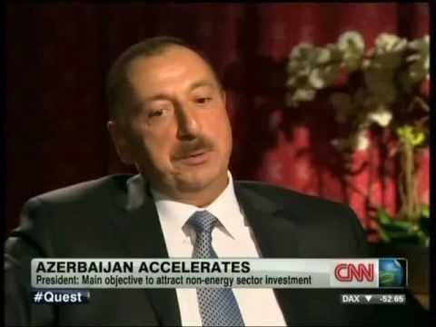 Prezident İlham Əliyevin CNN telekanalına müsahibəsi.