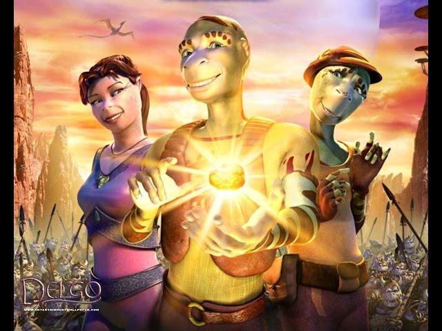 Tecknade filmer på svenska - Delgo - Tecknade filmer för barn