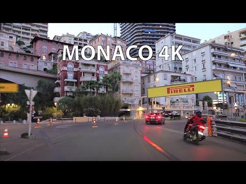 Monaco 4K - Billionaires' Playground - Sunset Drive