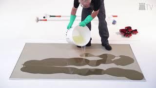 Applikation einer Epoxidharz-Grundierung am Beispiel ASODUR-GBM mit Sandeinstreuung