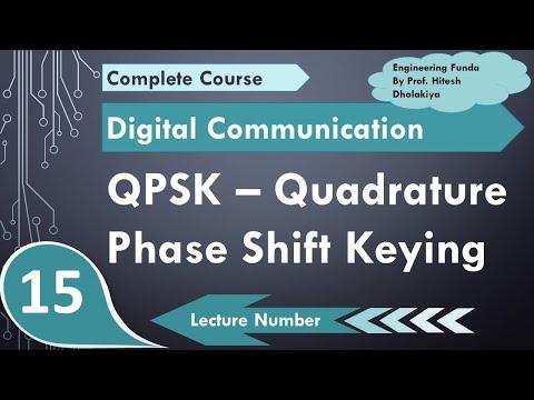L-15 QPSK Quadrature Phase Shift Keying (Basics, Modulator, Waveforms,  Demodulator & Applications)