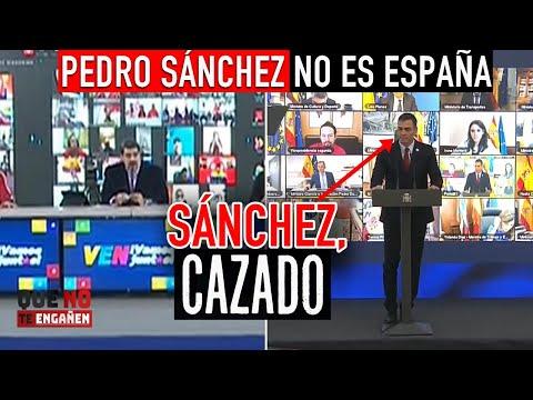 Impactante: PILLAMOS a SÁNCHEZ calcando a NICOLÁS MADURO y sus métodos de VENEZUELA