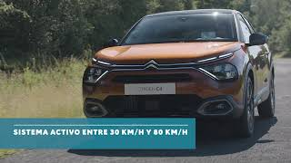 Nuevos Citroën C4 & ë-C4 100% ëlectric - Active Safety Brake