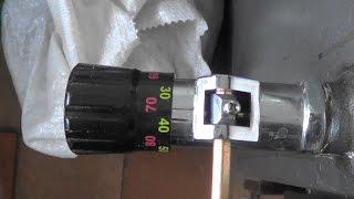 установка регулятора тяги Regulus RT 4 на твердотопливный котел