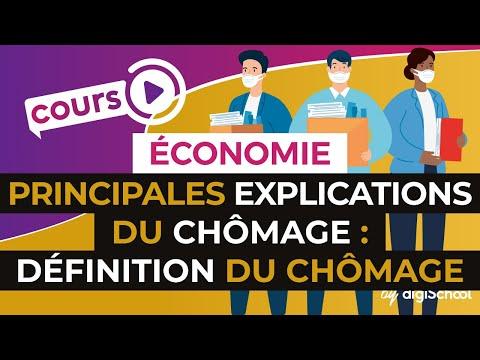 Les principales explications du chômage: Définition du chômage - Economie Terminale STMG