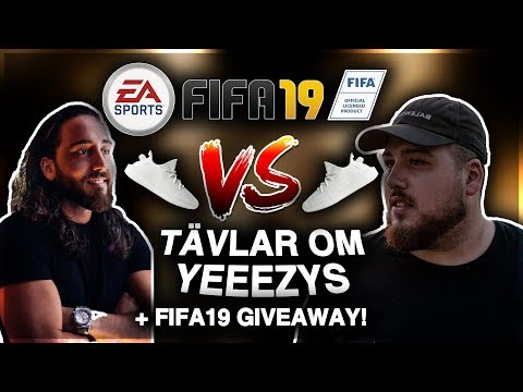 ANIS VS VALLE: FIFA 19 OM YEEZYS **FIFA19 PAKET GIVEAWAY**