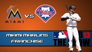MLB 13 The Show Franchise Mode: Miami Marlins - Jacob Turner Steps Up [Y1G60 EP5]