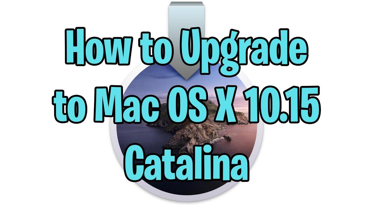 Mac yosemite upgrade to catalina