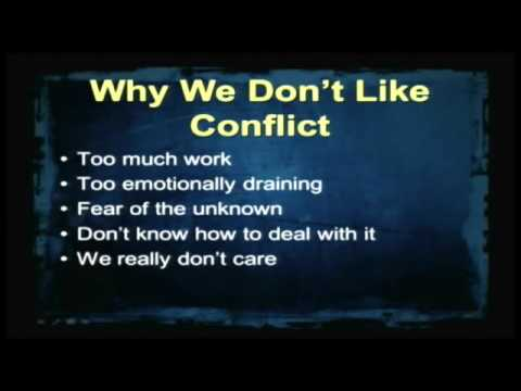 Law of Love   Part 3   Dealing with Conflict