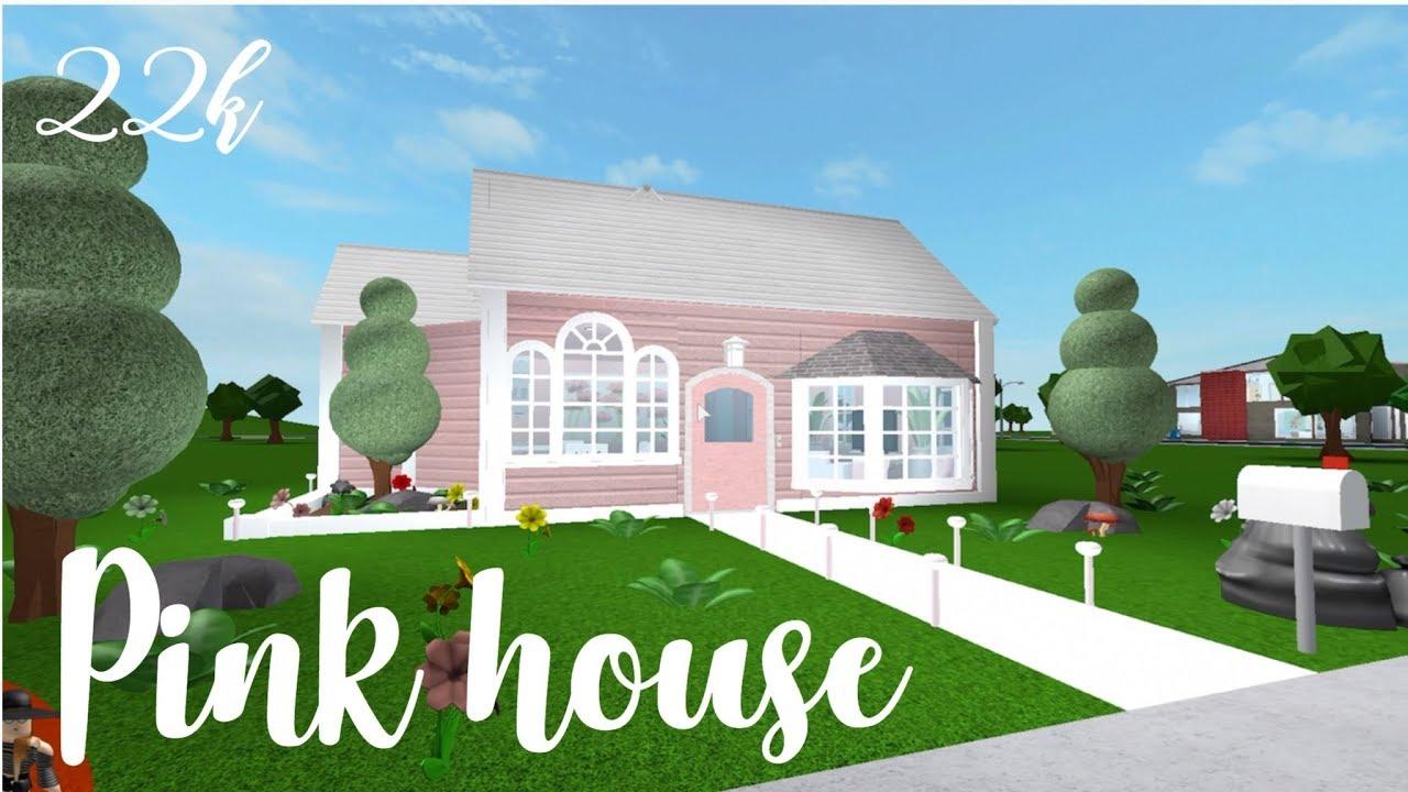 Bloxburg Small Pink House Youtube