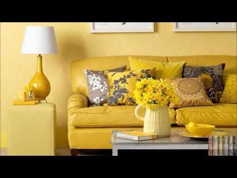 Обои желтого цвета