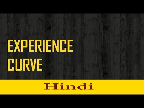 Experience Curve Effect : Hindi