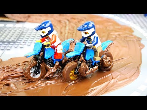 Motorcycle Racing And Dirt Bike Wash