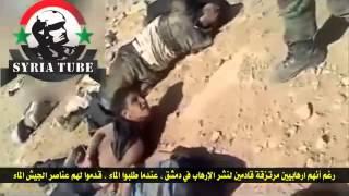 SYRIA! СИРИЯ! Сбор 'урожая' после разгрома группы бандитов..!!