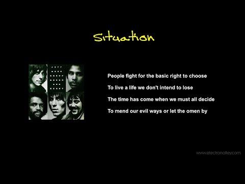Jeff Beck - Situation Lyrics