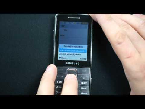 Samsung S5610 - appearance, menu - part 1