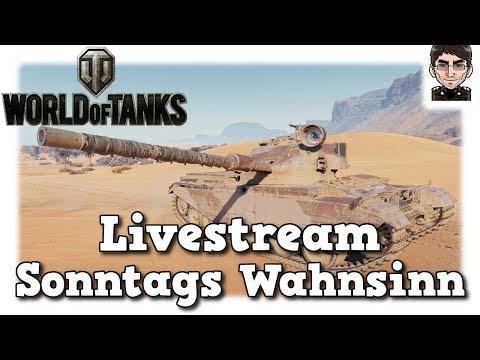 World of Tanks - Livestream Aufzeichnung vom Sonntag [deutsch]