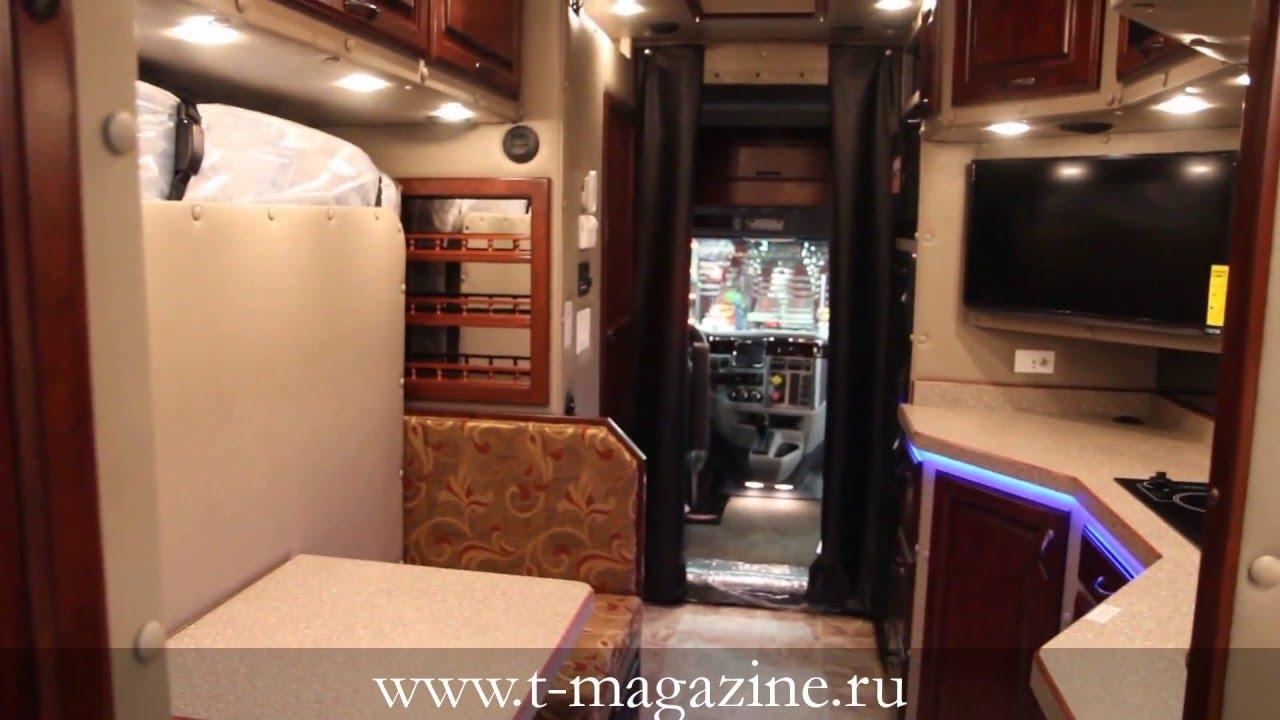 Жизнь в грузовике Quot спальник Quot Peterbilt 579 Youtube