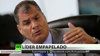 "Rafael Correa comenta la pesquisa a Lenín  Moreno sobre ""INA papers"""