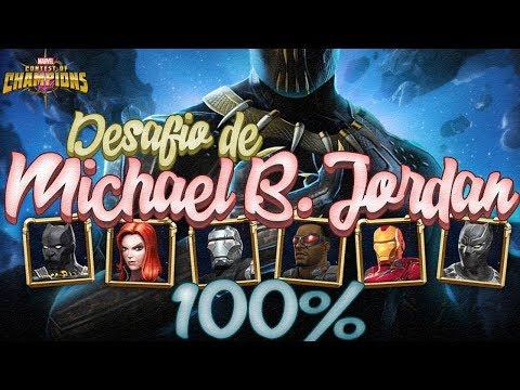 Desafio de Michael B. Jordan | ¿Que Tan Fácil Será? | Marvel Contest Of Champions