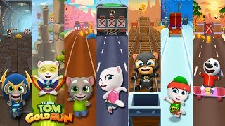 Talking Tom Gold Run -  All additional levels - New update - Gameplay Mobile, Android - screenshot 5