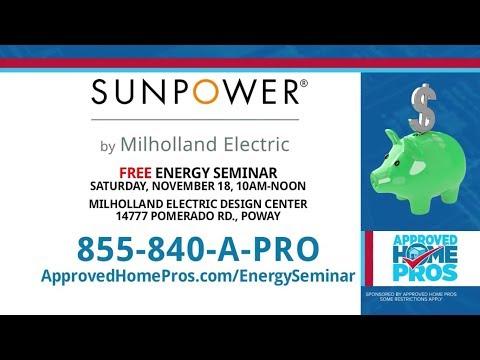 Energy Savings Seminar