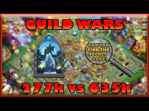 Castle Clash: Guild Wars | 277k Vs 635k | Giftcard Giveaway