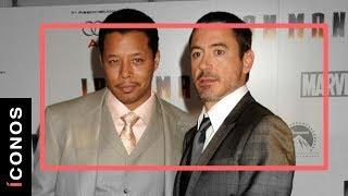 """La """"traición"""" de Robert Downey Jr. a Terrence Howard"""