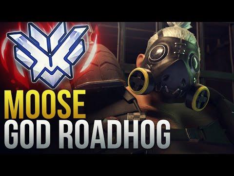 Moose - WHAT A GOD ROADHOG LOOKS LIKE - Overwatch Montage