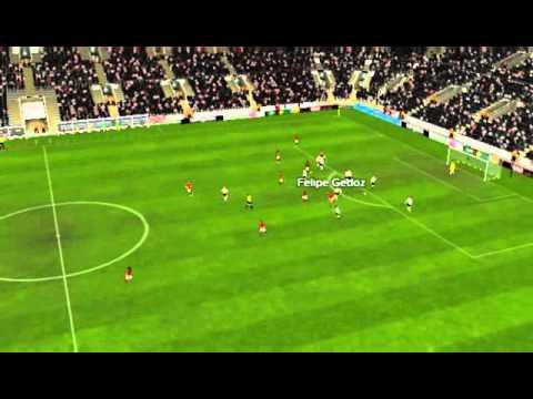 River x Flamengo - Gol de Felipe Gedoz 20 minutos