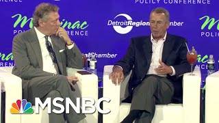 john boehner there is no republican party theres a donald trump party the 11th hour msnbc