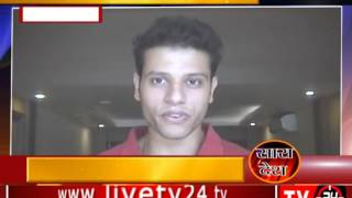 """Tv24"" Delhi : Thieves looted Music system from car."