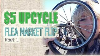$5 upcycle challenge - Flea Market Flip Part 1
