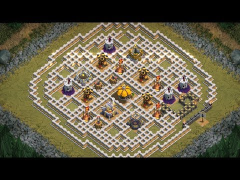 UNDERGROUND WORKAROUND ☆ Clash of Clans ☆ Single Player ☆ Goblin Maps 3 Star Walkthrough