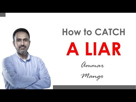 body language liars and how to catch them