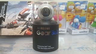 samsung gear 360 unboxing release day unboxing