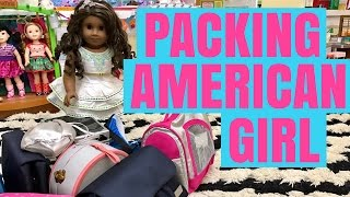 How to Pack Your American Girl Doll