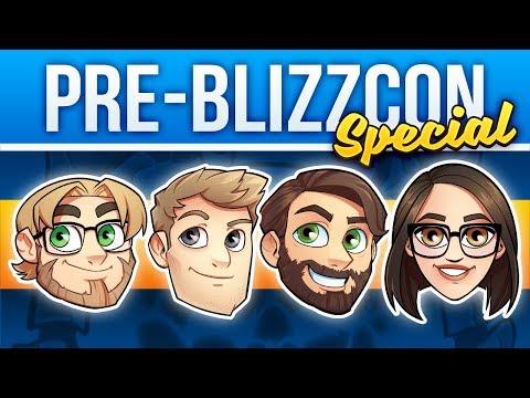 FinalBossTV #154 | pre-BlizzCon 2017 Special | Bellular, Taliesin & Evitel