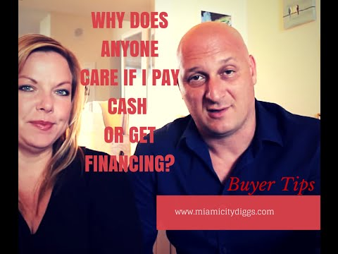 Why Does It Matter If I Pay Cash or Get Financing?