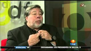 Carlos Loret de Mola entrevista a Steve Wozniak