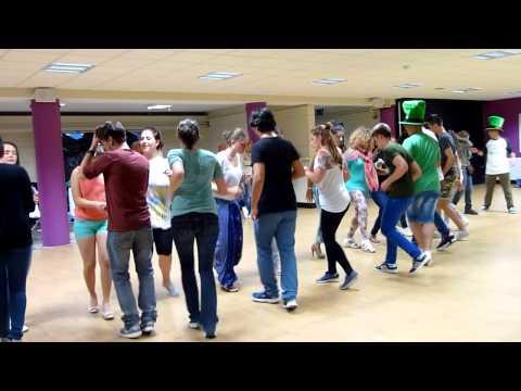 Irish Dance in UCD Dublin