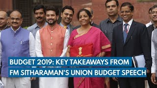 Budget 2019: Key takeaways from FM Sitharaman's Union Budget speech